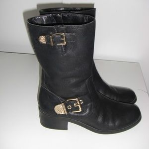 Vince Camuto mid-calf black boots size 8 1/2M